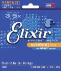 Elixir 12057 Light Nanoweb  7-String 10-56