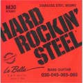 La Bella M30  Hard Rockin' Steel Super Lights.  030-085